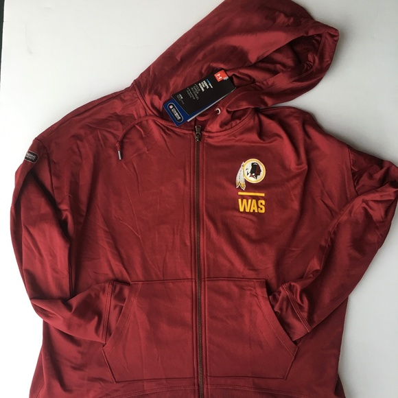 Nice Under Armour Tops | Washington Redskins Combine Hoodie | Poshmark  for sale
